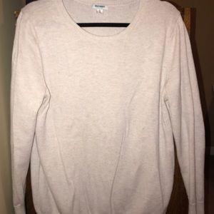 Old Navy Cream Crew Neck Sweater - XL